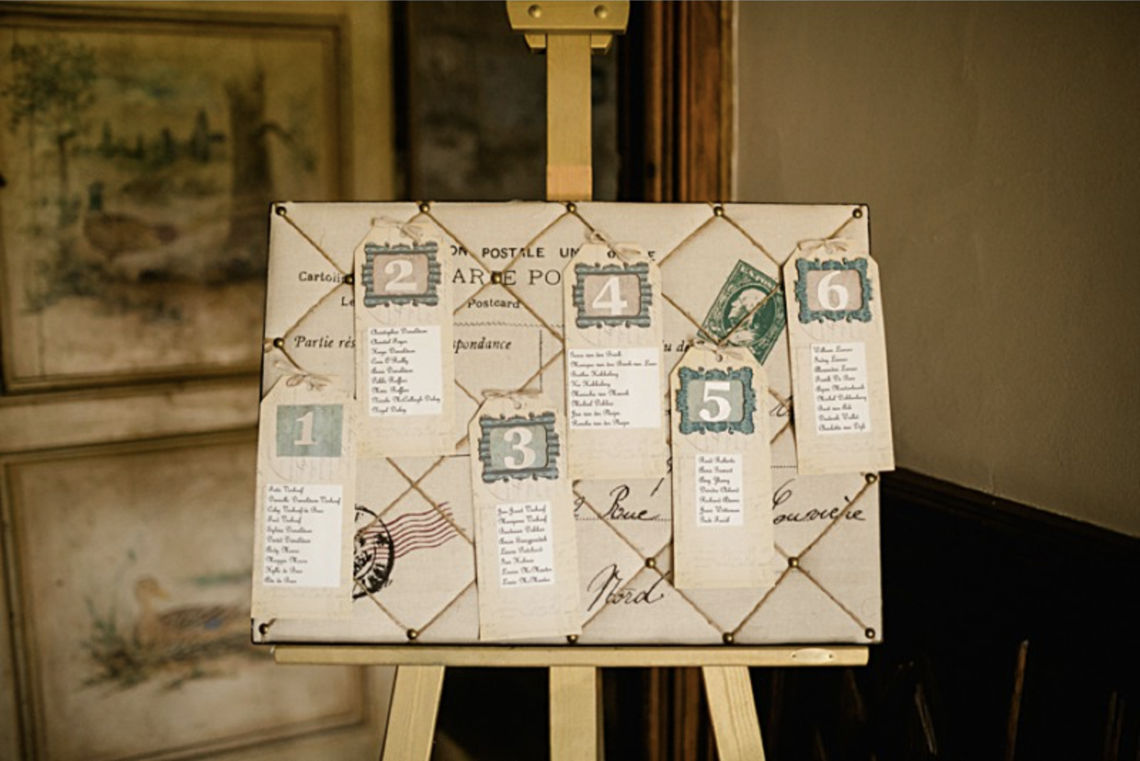 french wedding seating chart the impeccable pear