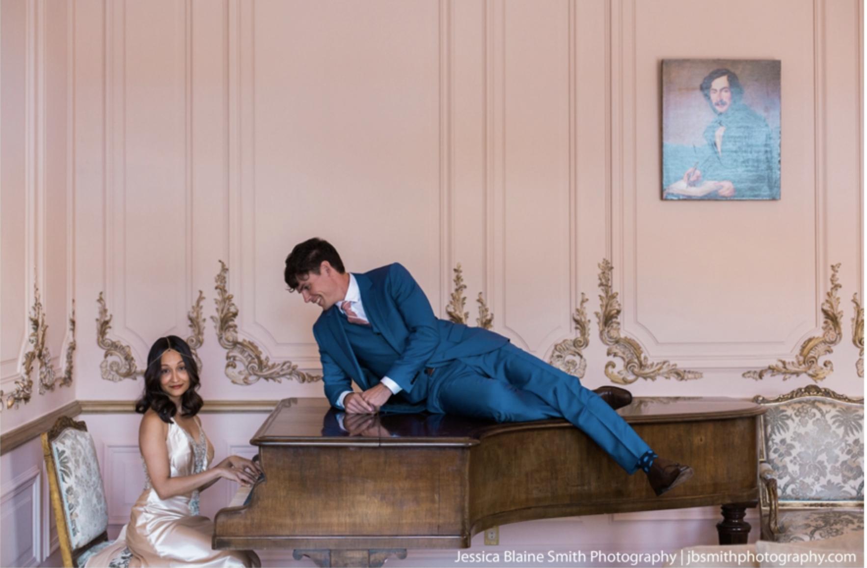 impeccable pear glamorous wedding design