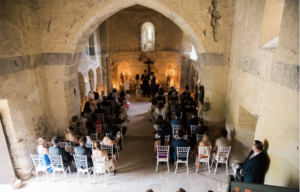 impeccable pear glam wedding chapel