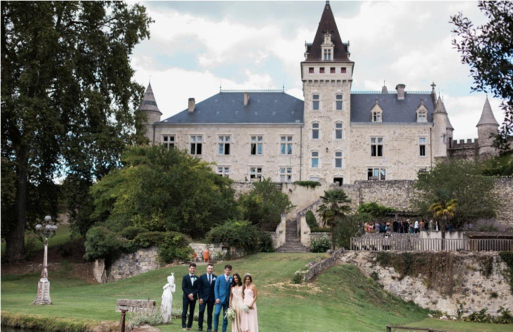the impeccable pear fara ben glamorous wedding