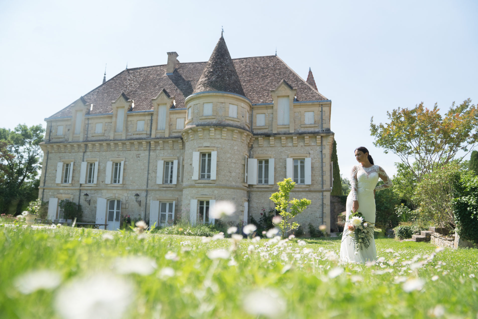 chateau plombis south of France weddings chateau