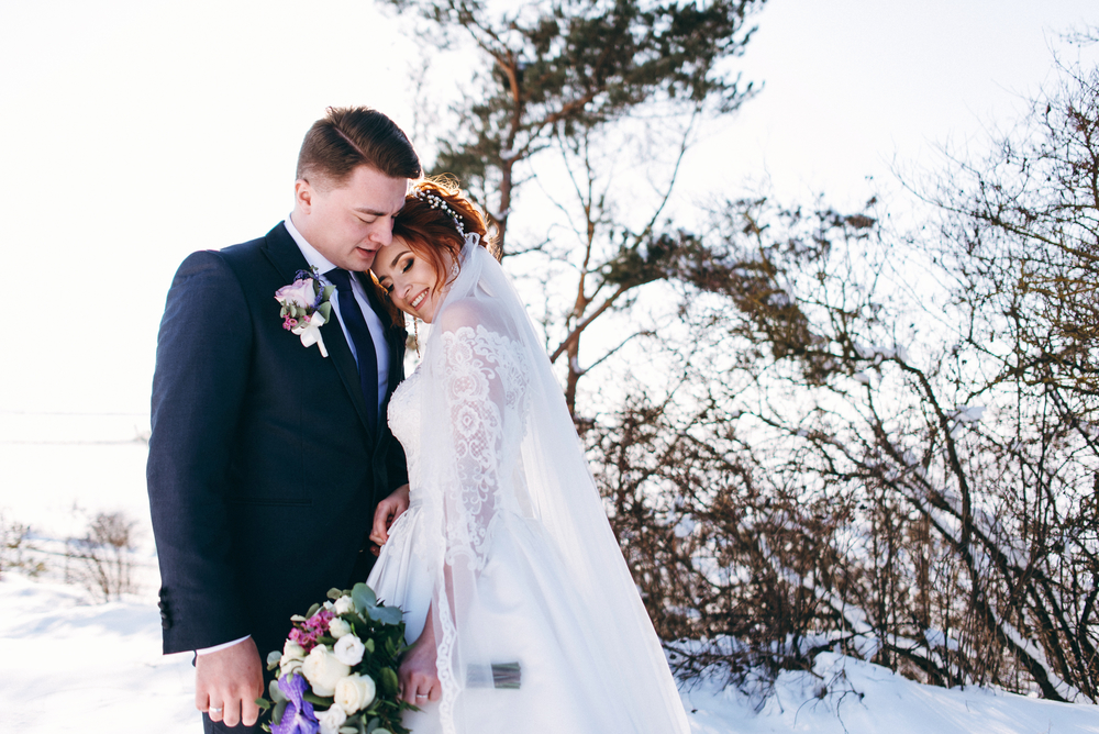 planning a wedding in france - winter