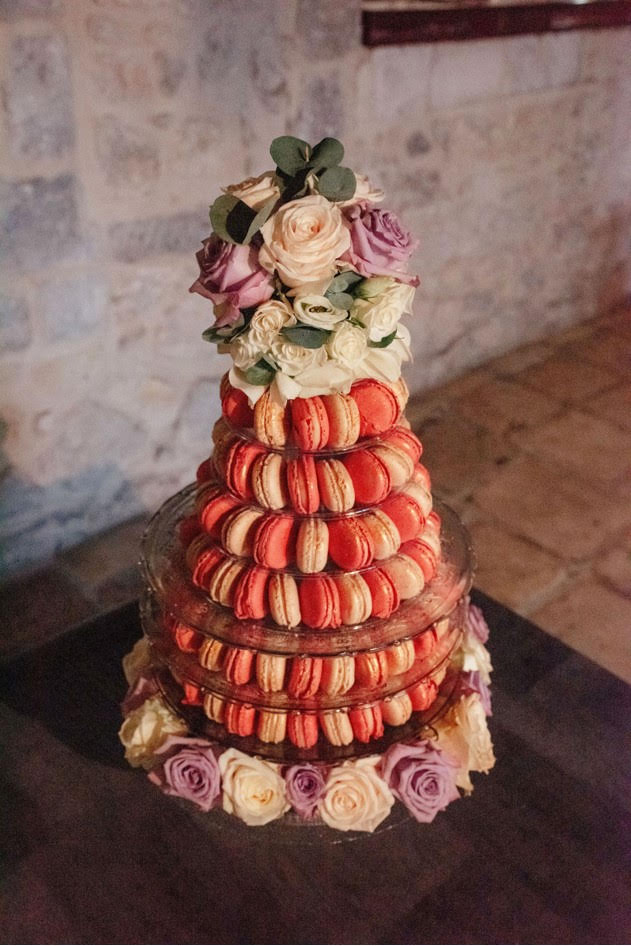 macaroon tower dubai-french wedding